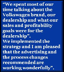 Dave Walter Vw >> Michael Dyer General Manager Dave Walker Volkswagen